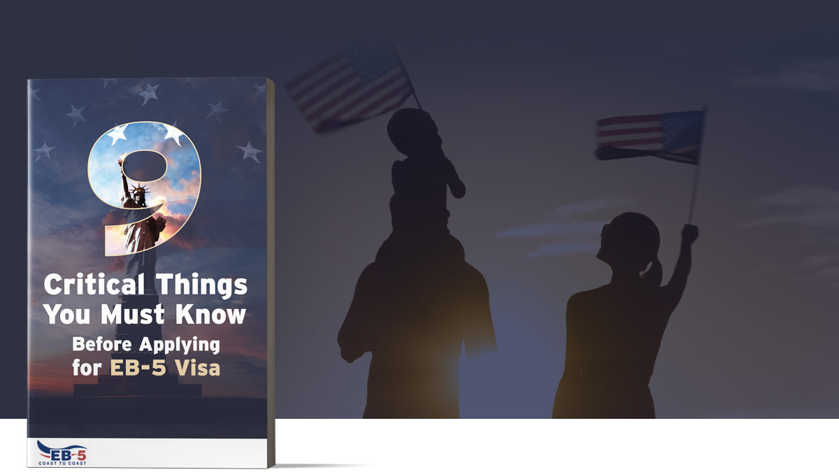 e-book image, 9 critical things you must know before applying for EB-5 Visa