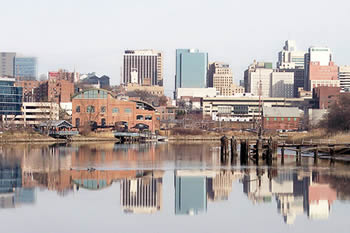 EB-5 Regional Center in Delaware. Photo of downtown Wilmington, Delaware.