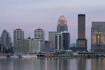 EB-5 Regional Center in Kentucky. Photo of a Paddle Steam Boat on the river in Louisville, Kentucky.