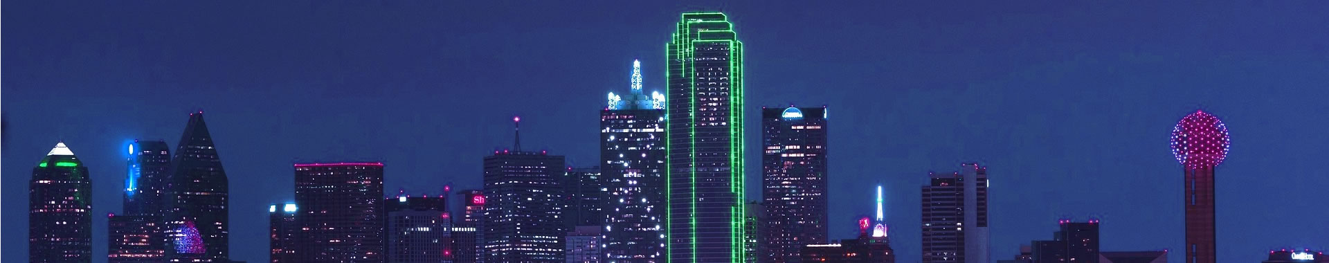 Photo of downtown Dallas, Texas.